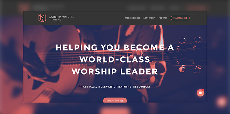 Worship Ministry Training Screenshot