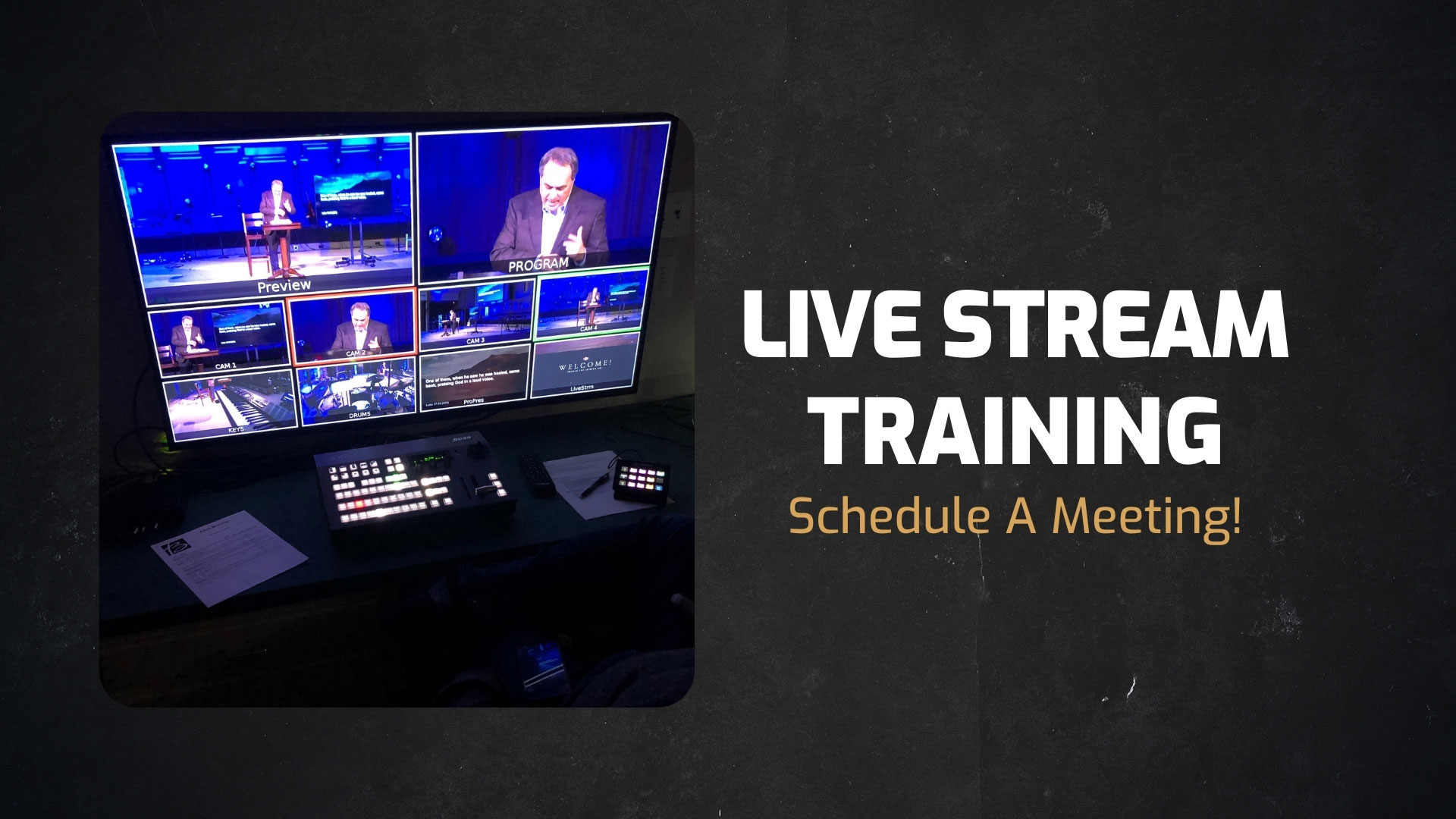 Live Stream Training