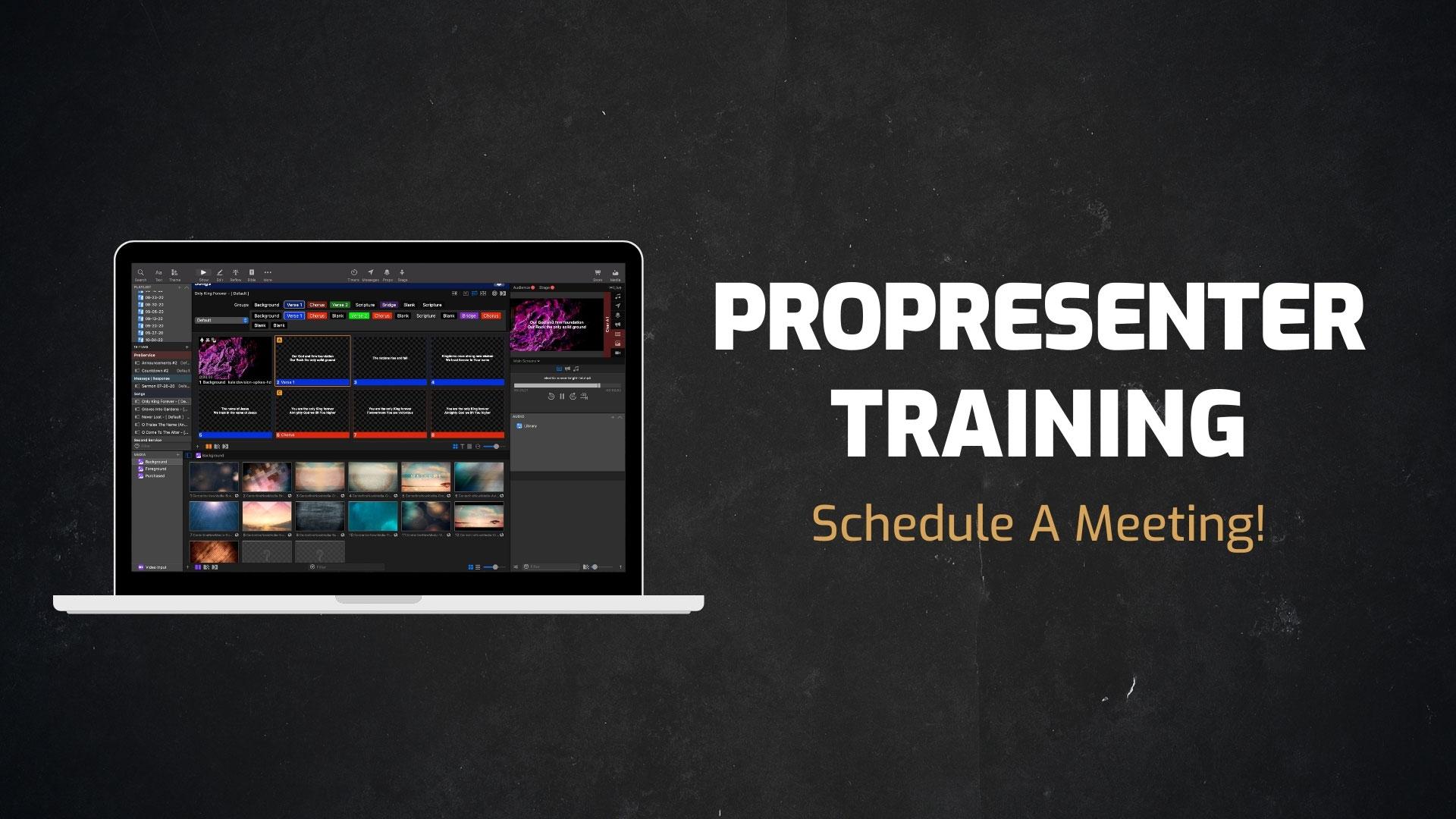 Propresenter Training