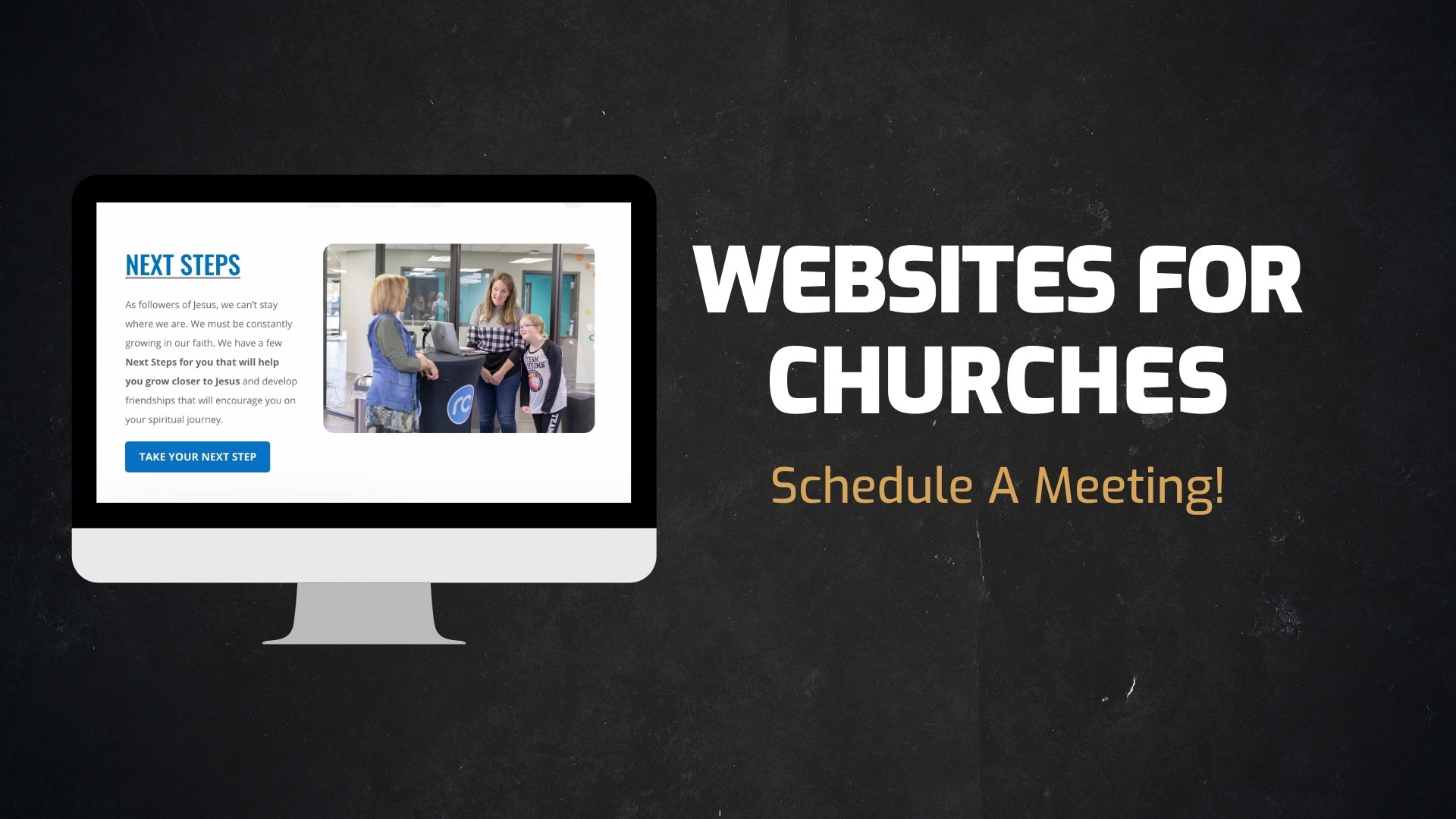 Services We Offer - Websites For Churches - Schedule A Meeting