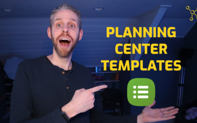 How To Create And Use Planning Center Templates