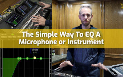 The Simple Way To EQ a Microphone or Instrument
